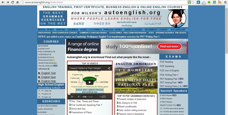 Kurz angličtiny zdarma - Autoenglish